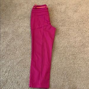 Brand new hot pink ankle pants
